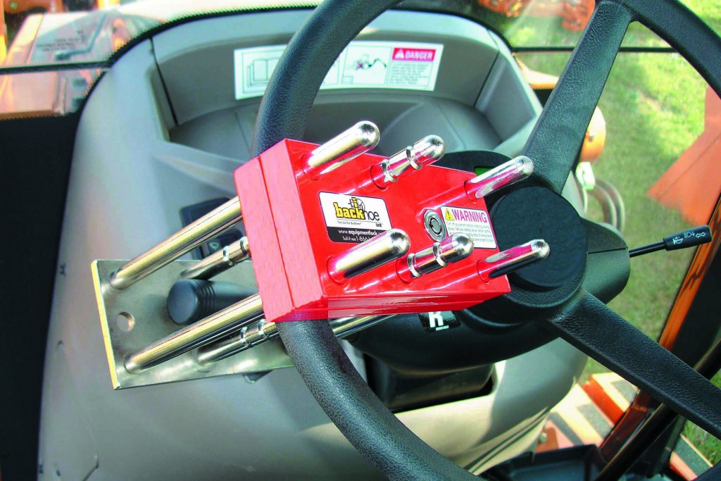 Safety Devices For Heavy Equipment Equipment Lock Lock