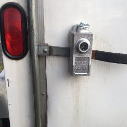 Cargo Door Lever Lock 2