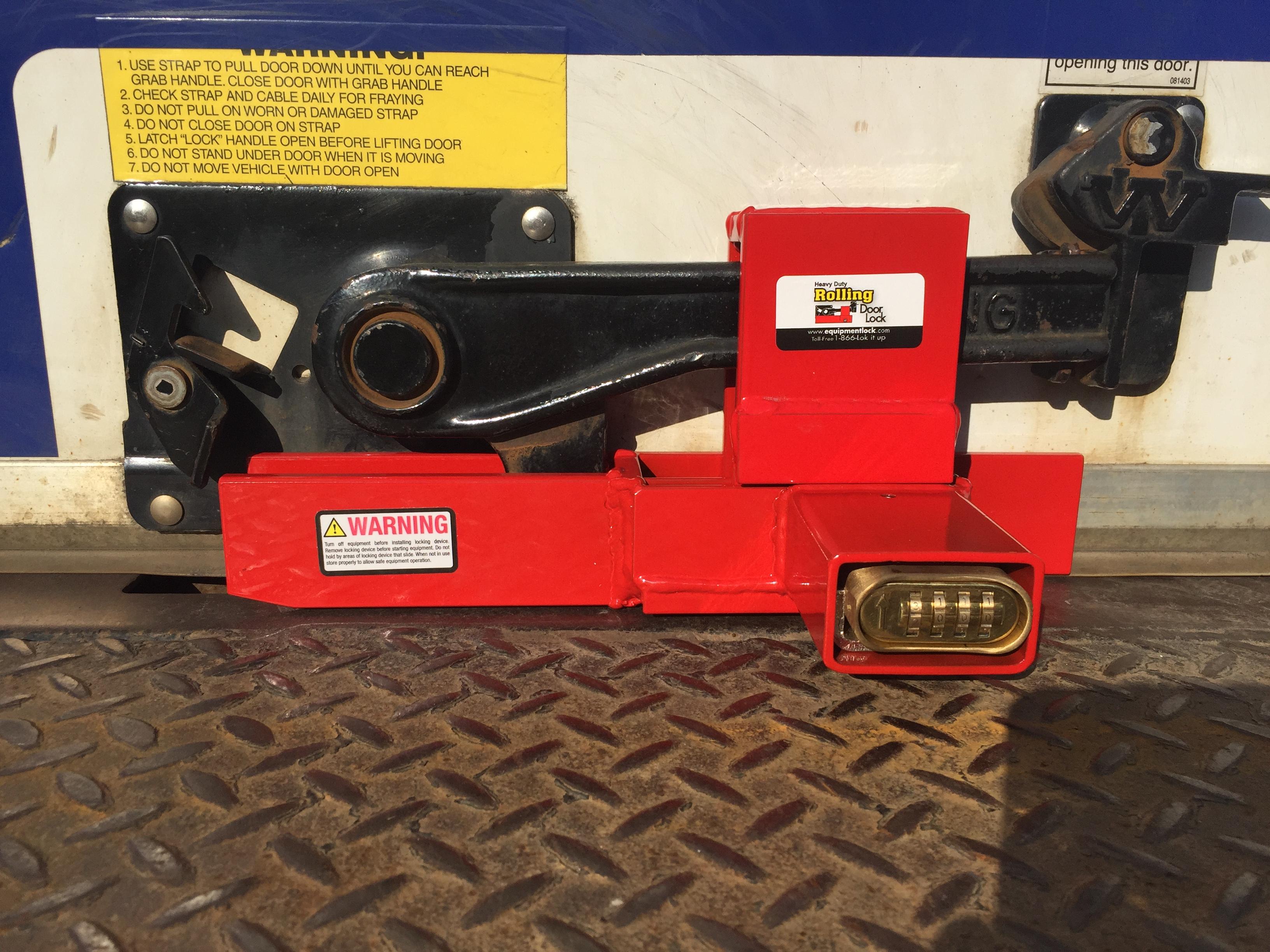 Heavy Duty Rolling Door Lock The Equipment Lock Company