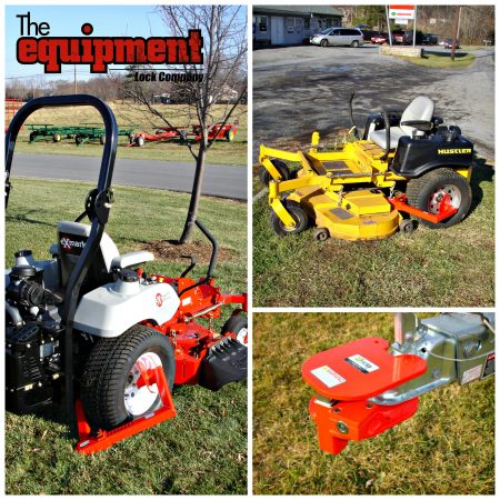 Securing Landscaping Equipment