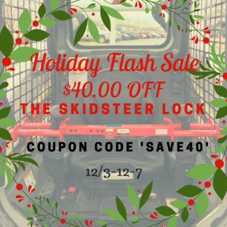 Holiday Skidsteer Lock Sale
