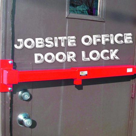 Jobsite Office Door Lock
